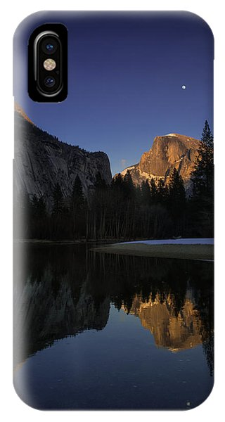 Half Dome, Twilight IPhone Case