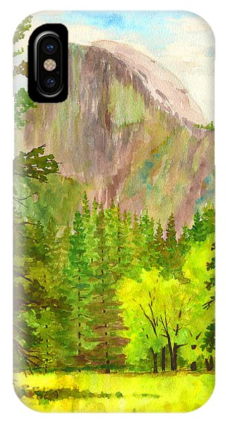 Half Dome With Trees IPhone Case