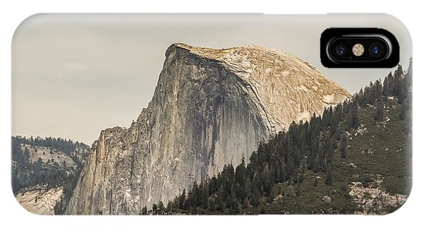 Half Dome Yosemite Valley Yosemite National Park IPhone Case