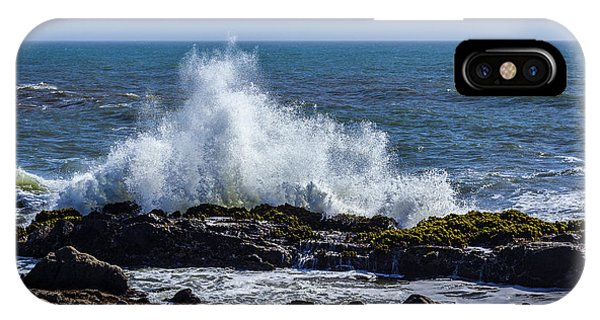Wave Crashing On California Coast 1 IPhone Case