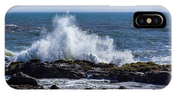 Wave Crashing On California Coast 1 IPhone Case