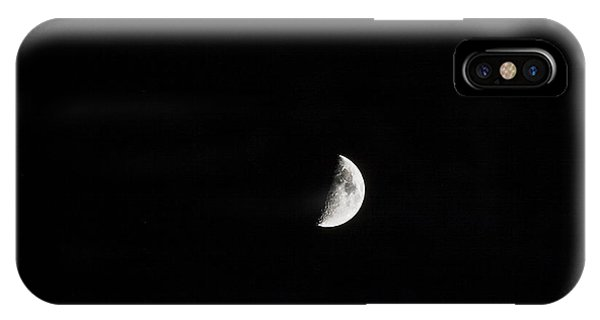 Half Moon Phone Case by Mark Russell