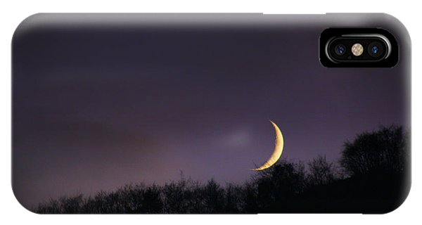 Half Moon IPhone Case