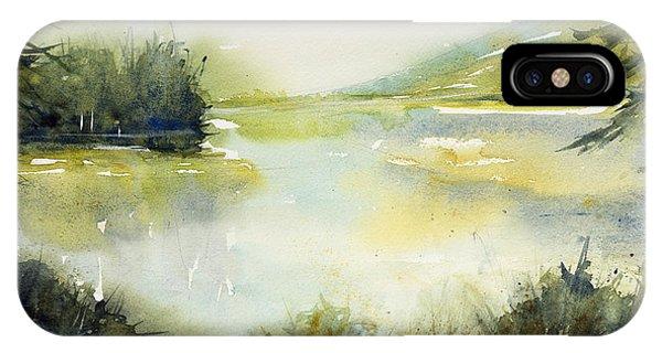 Half Moon Pond IPhone Case