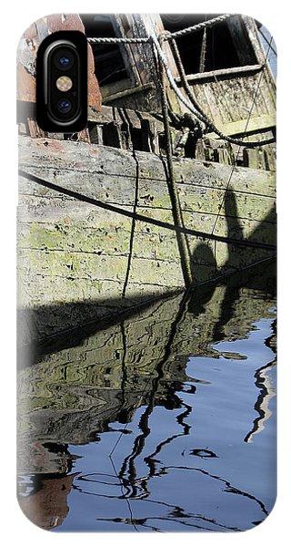 Half Sunk Boat IPhone Case
