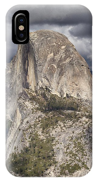 Half Dome - Stormy Skies IPhone Case