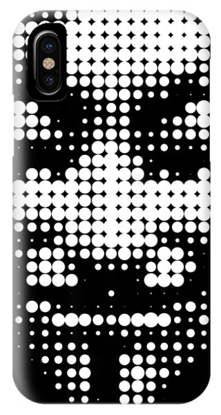 Halftone Anonymous Face  IPhone Case
