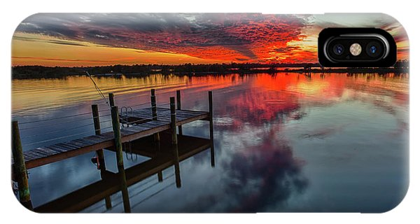 Halifax River Sunset IPhone Case