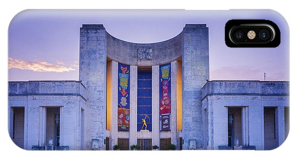 Hall Of State Texas IPhone Case