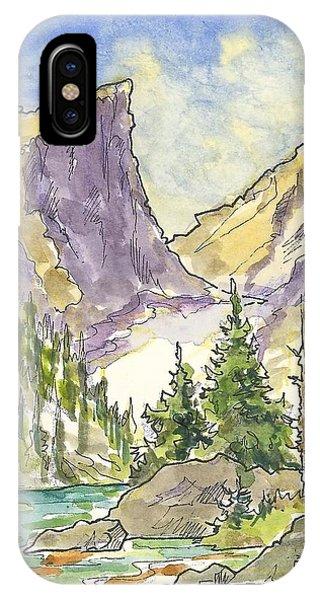 Hallett's Peak IPhone Case