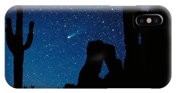 Desert iPhone Case - Halley's Comet by Frank Zullo