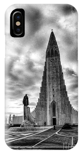 Hallgrims Kirkja Iceland IPhone Case