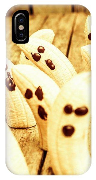 Halloween Banana Ghosts IPhone Case