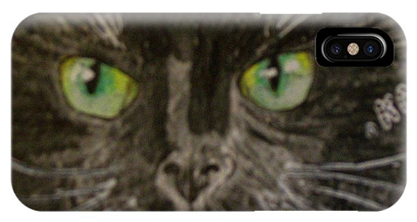 Halloween Black Cat I IPhone Case
