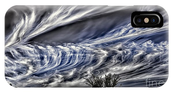 Halloween Clouds IPhone Case