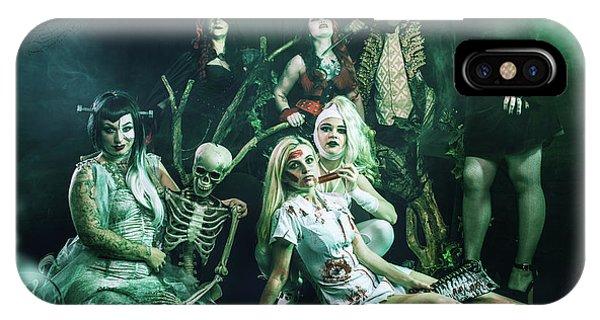 Cauldron iPhone Case - Halloween Event by Amanda Elwell