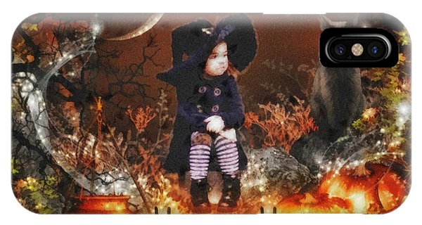 Halloween Girl IPhone Case