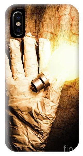 Hand iPhone Case - Halloween Ideas Concept by Jorgo Photography - Wall Art Gallery