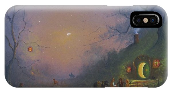 A Shire Halloween  IPhone Case