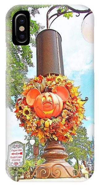 Halloween In Walt Disney World IPhone Case