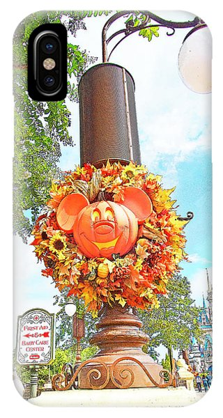 Halloween In Walt Disney World IPhone Case