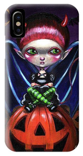 Halloween Little Devil IPhone Case