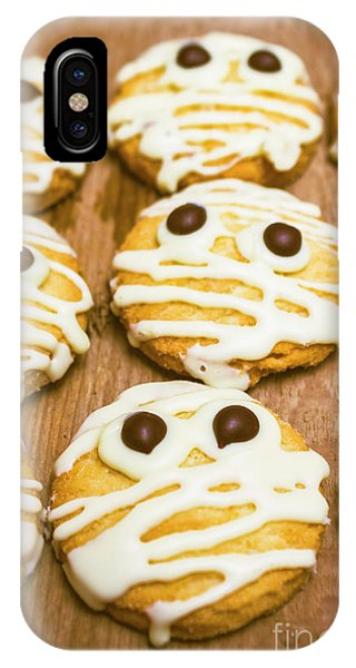 Icing iPhone Case - Halloween Little Monster Biscuits by Jorgo Photography - Wall Art Gallery