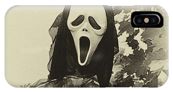 Halloween No 1 - The Scream  IPhone Case
