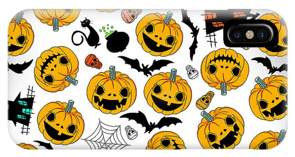 Fall iPhone Case - Halloween Party  by Mark Ashkenazi
