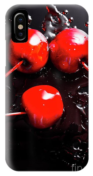 Coat iPhone Case - Halloween Toffee Apples by Jorgo Photography - Wall Art Gallery