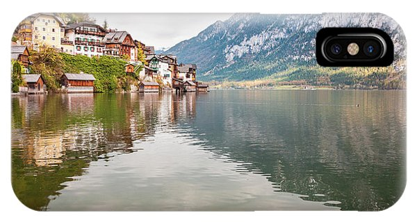 IPhone Case featuring the photograph Hallstat by Geoff Smith