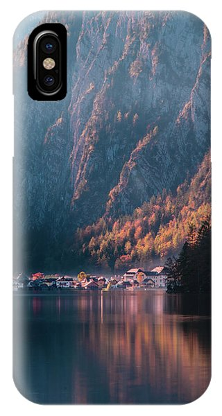 IPhone Case featuring the photograph Hallstatt Fall by Geoff Smith