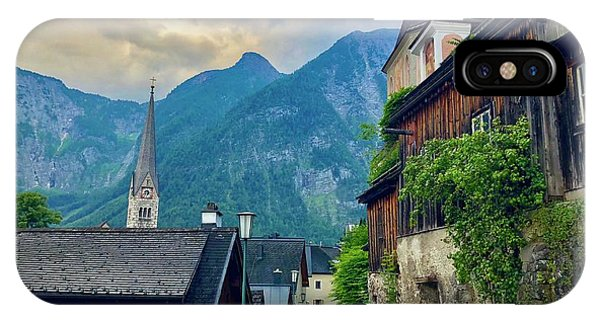 Hallstatt Village Stroll IPhone Case