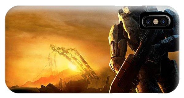 iPhone Case - Halo 3 by Eloisa Mannion
