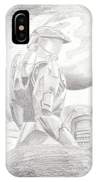 Halo Soldier IPhone Case