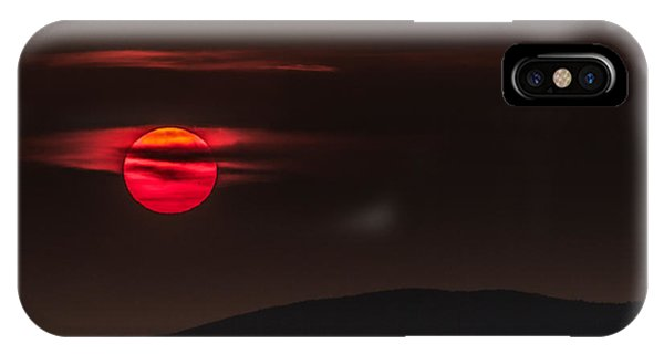 Haloed Sunset IPhone Case