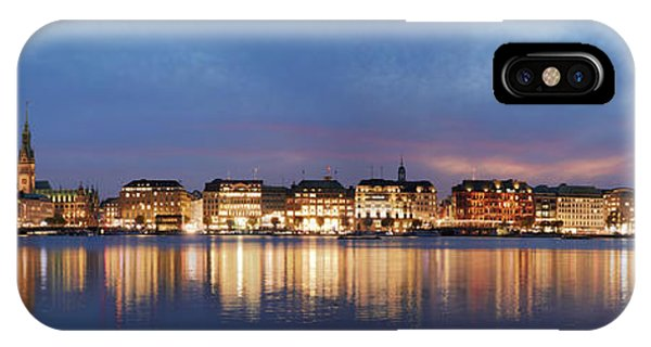 Hamburg Alster Panorama IPhone Case