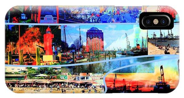 iPhone Case - Hamburg Elbe by Peter Norden