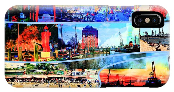 iPhone Case - Hamburg Elbe by Peter Norden