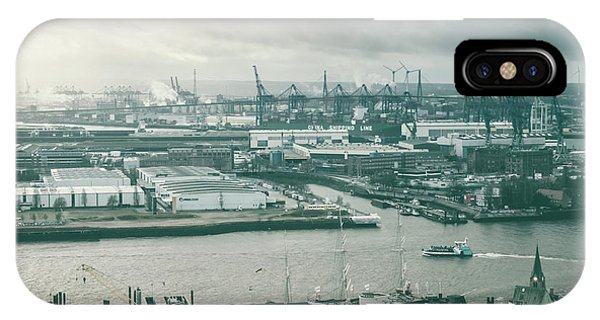 Hamburg Port  IPhone Case