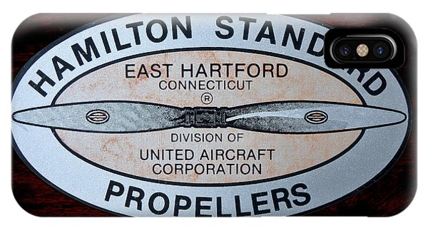 Hamilton Standard East Hartford IPhone Case