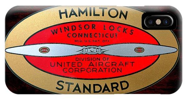 Hamilton Standard Windsor Locks IPhone Case