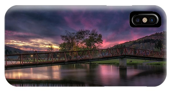 Hamlin Lake Sunset IPhone Case