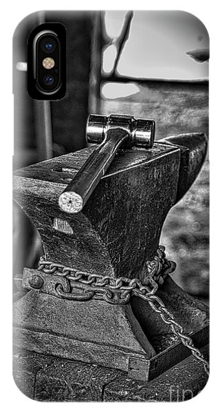 Anvil iPhone Case - Hammer And Anvil by Mitch Shindelbower