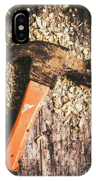 Industrial iPhone Case - Hammer Details In Carpentry by Jorgo Photography - Wall Art Gallery
