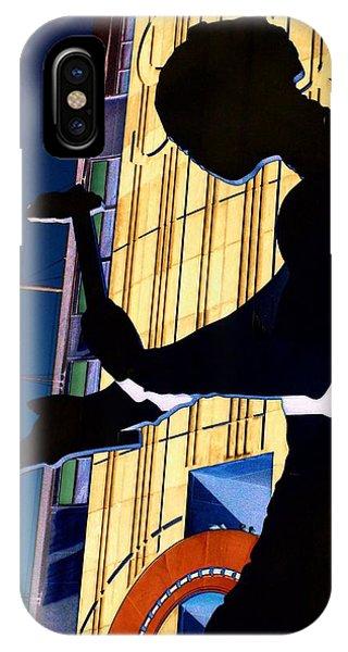 Seattle iPhone Case - Hammering Man by Tim Allen