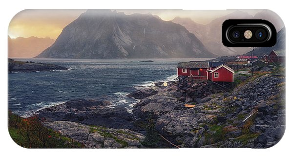 IPhone Case featuring the photograph Hamnoy by James Billings