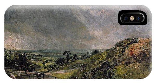 North London iPhone Case - Hampstead Heath by John Constable