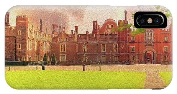 Hampton Court Palace Panorama IPhone Case