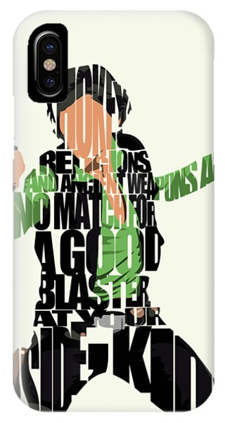 Harrison iPhone Case - Han Solo From Star Wars by Inspirowl Design